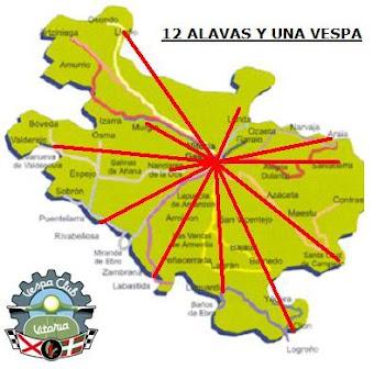 """PROYECTO 2009 """"12 ALAVAS Y UNA VESPA"""""""