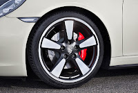 Porsche 911 50 years limited edition model tire