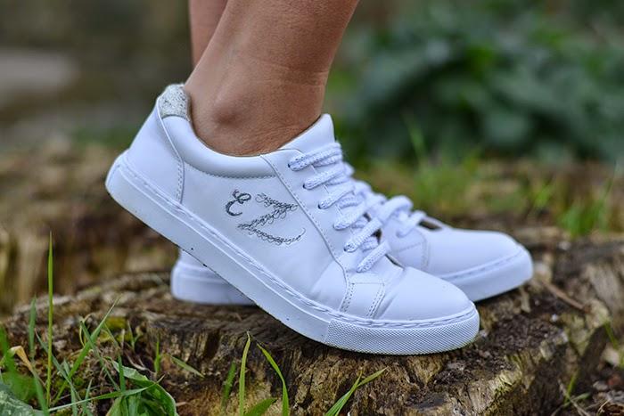 sneakers con iniziali promod