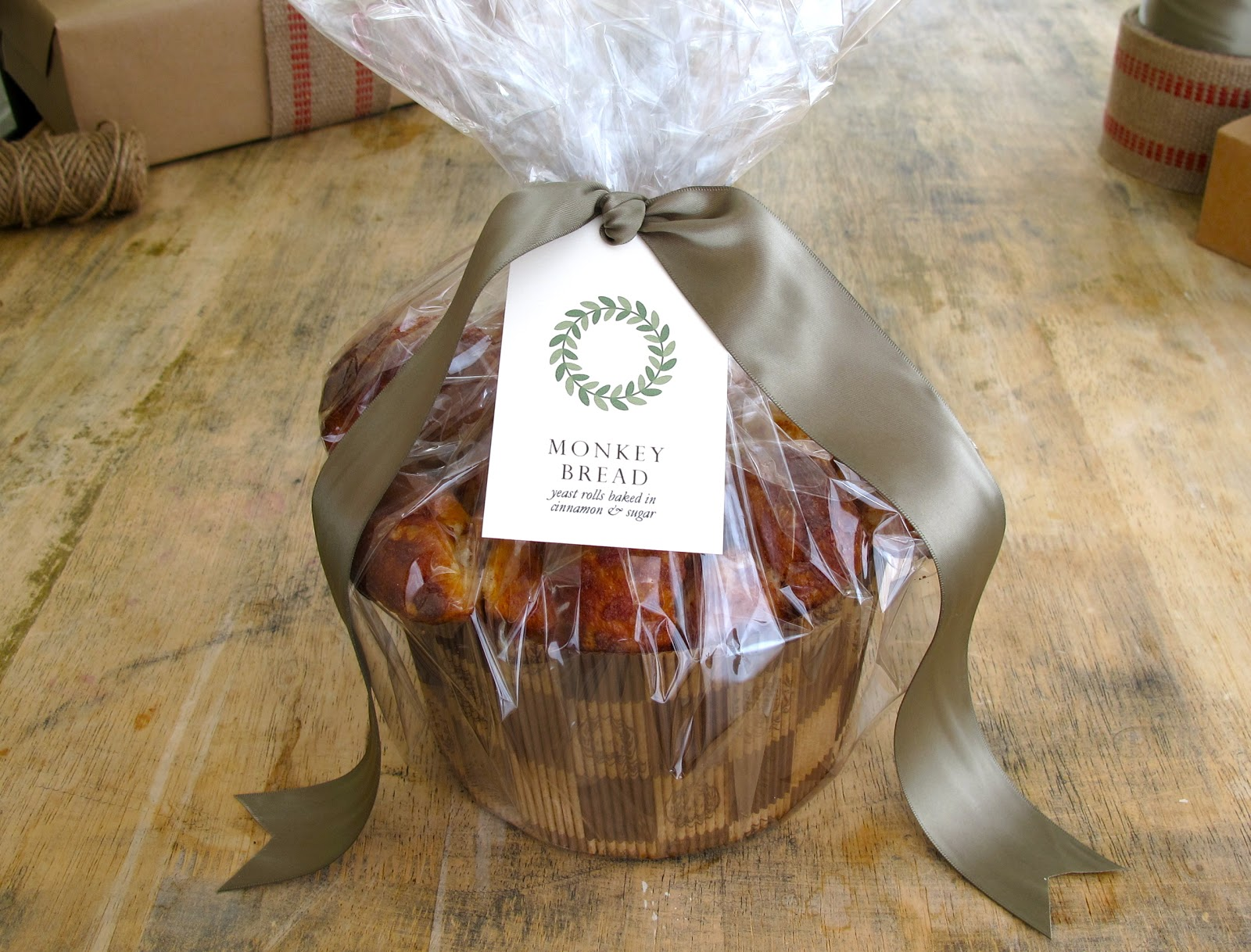 monkey bread homemade gift ideas for the holidays