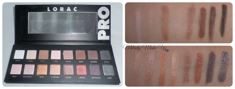Lorac fake china swatches