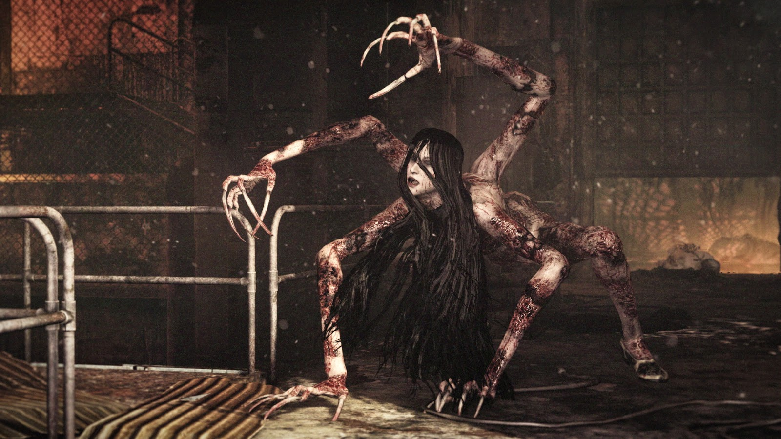 the evil within terror japones