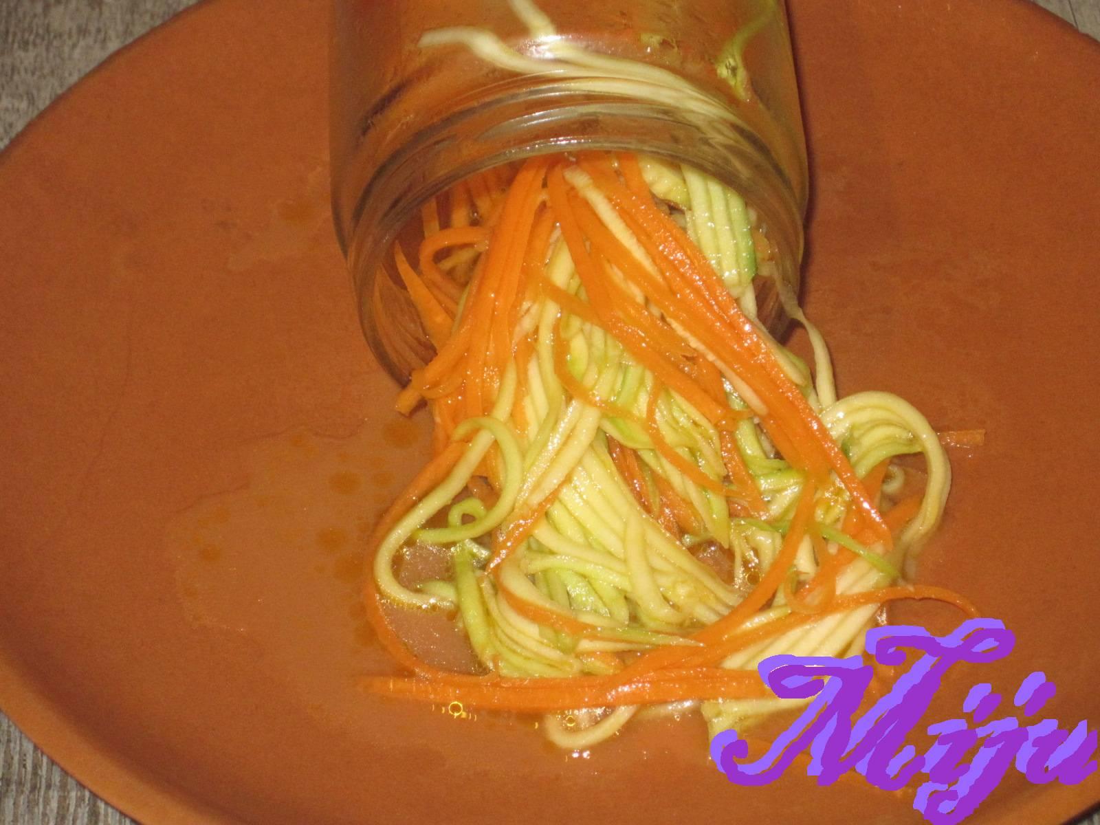 El bocado de la huerta encurtido agridulce de calabacin y zanahoria - Encurtido de zanahoria ...