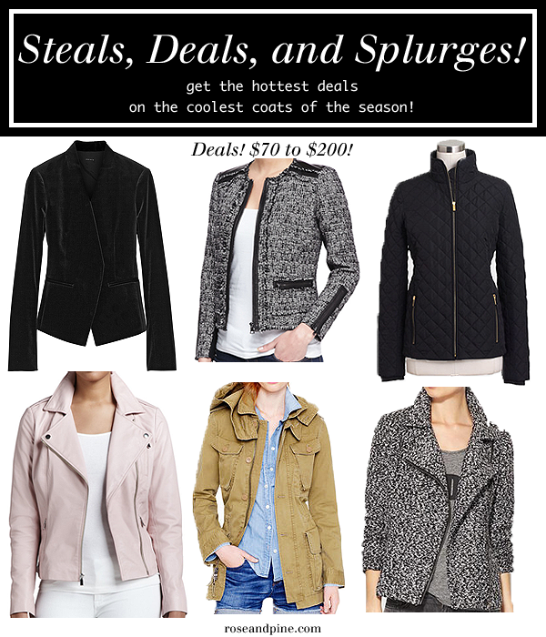 jackets coats outerwear cheap budget under two hundred dollars fashion style winter fall trends