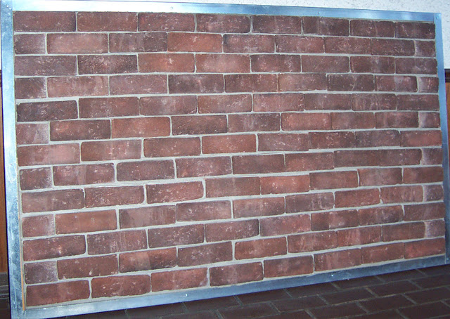 Brick laminate picture for Brick veneer floor