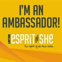 I'm an Esprit de She Ambassador!