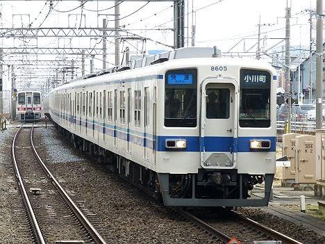 東武東上線 快速 小川町行き1 8000系