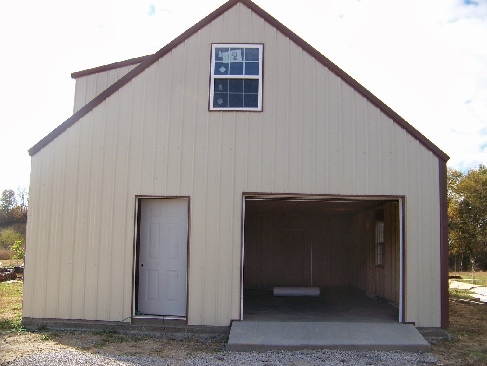 Smith steel supplies barns for Shop with apartment