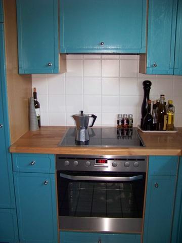 Bucherfreundin upcycling in der kuche for Türkise küche