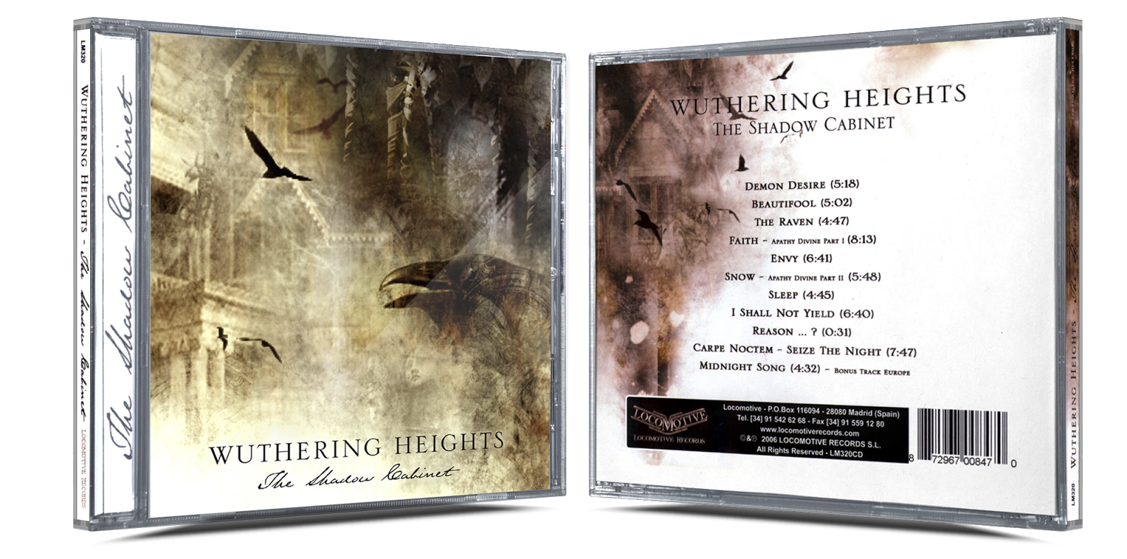 [Pedido] Wuthering Heights - Discografia