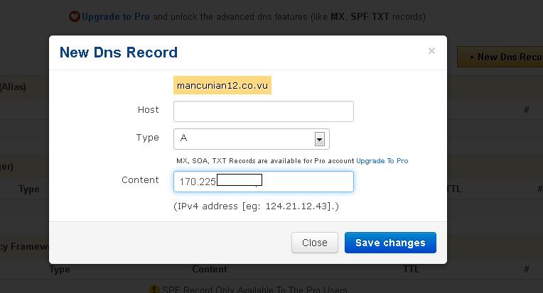 Merubah IP VPS Menjadi Domain
