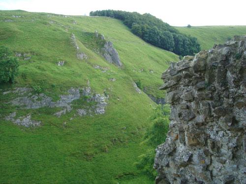 Peveril Castle, Castleton, Peak District