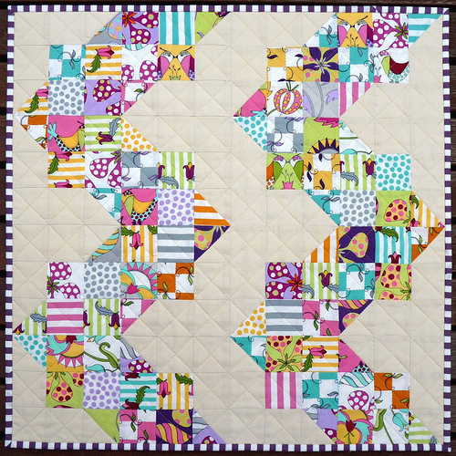 Red Pepper Quilts Downunder Doll Quilt Swap 2