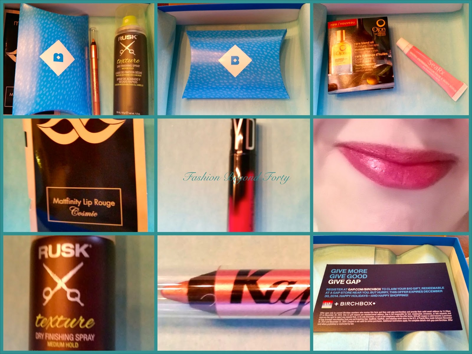Birchbox December 2014 Review on Fashion Beyond Forty