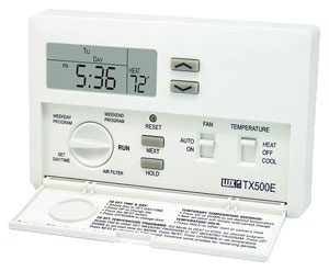 fred s humboldt blog product review lux tx500e thermostat rh humboldtlib blogspot com LuxPro Thermostat Wiring Emerson Thermostat Wiring Diagram