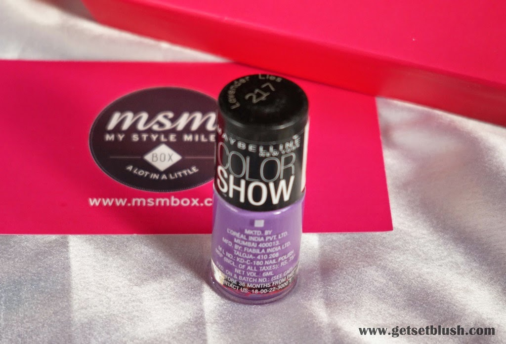 Maybelline Colorshow Nail Paint in Lavender Lies