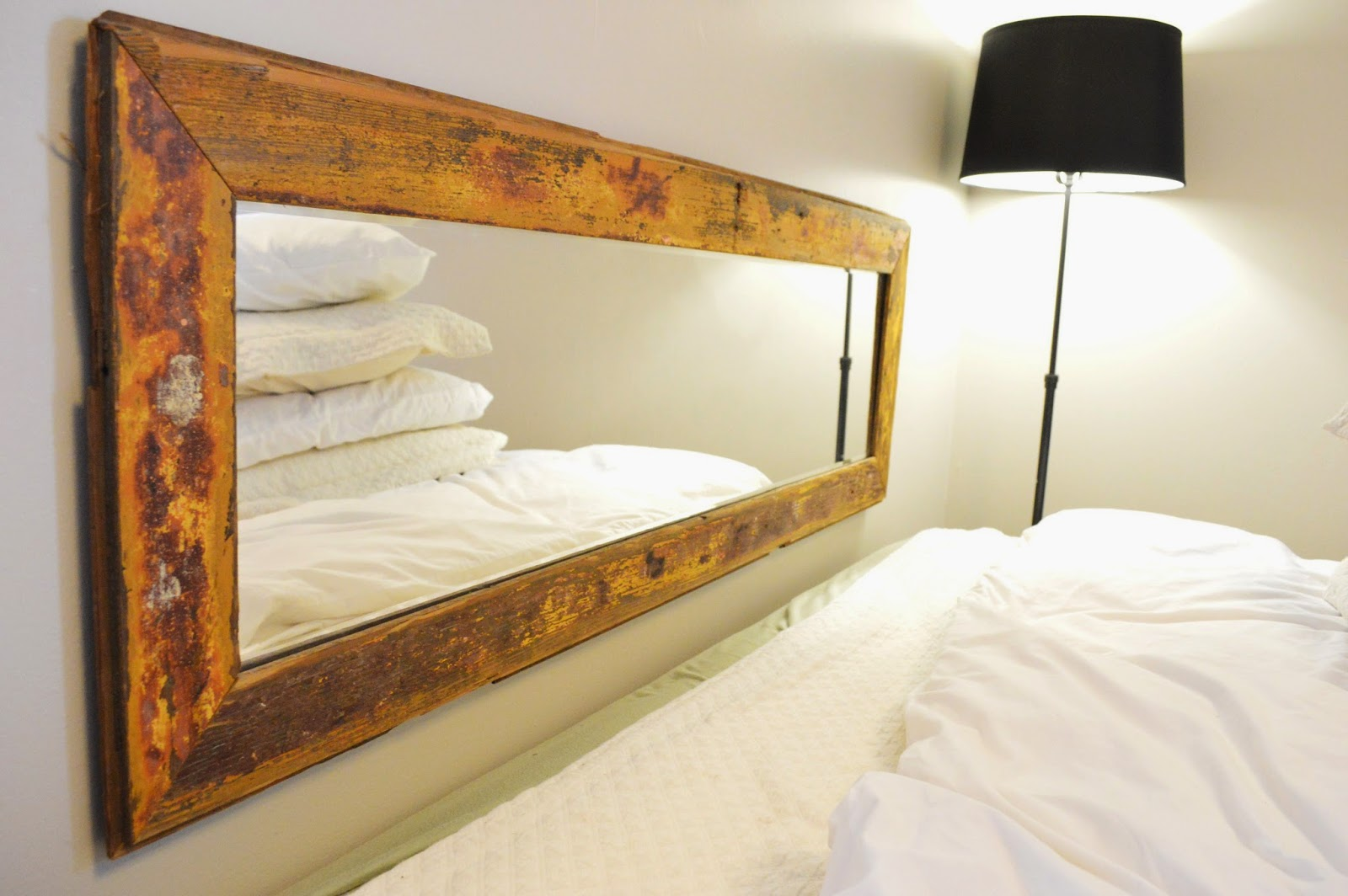 stylish mirror with bedroom alternatives headboard your transform that will pin