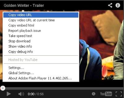 com disitu ada menu copy videoi url klik menu tersebut