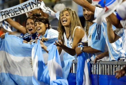 Supporter Argentina Terlibat Perkelahian