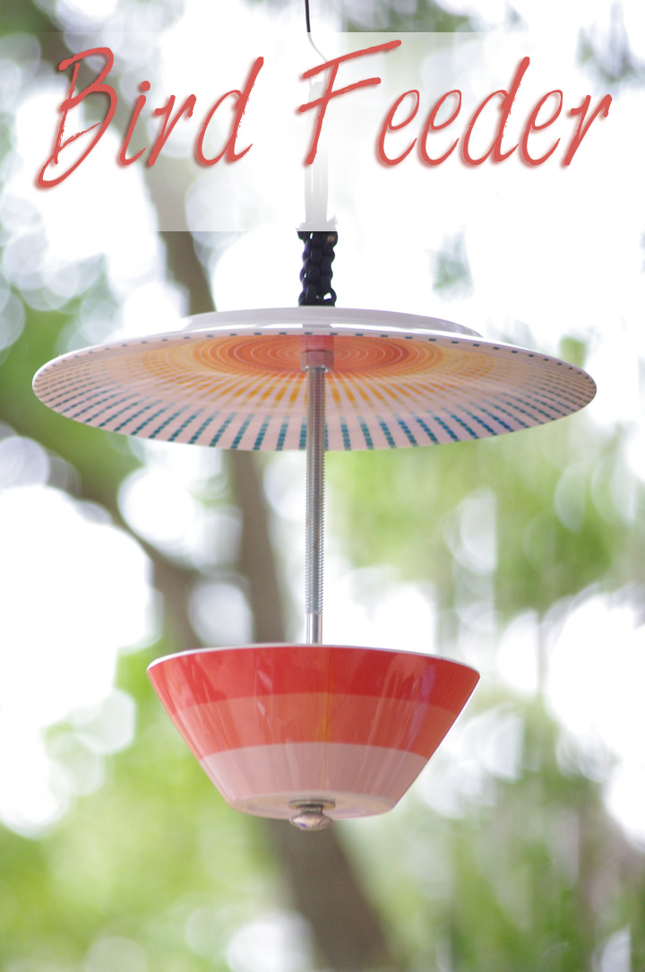 Bird Feeder Made From Plate And Bowl Creative Ideas