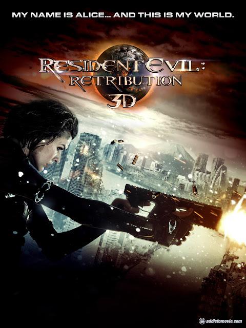 resident evil - retribution, movie, 3d