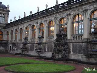 Zwinger Palace, Dresden, Germany // photo by Melani A - magsbeadscreation.com