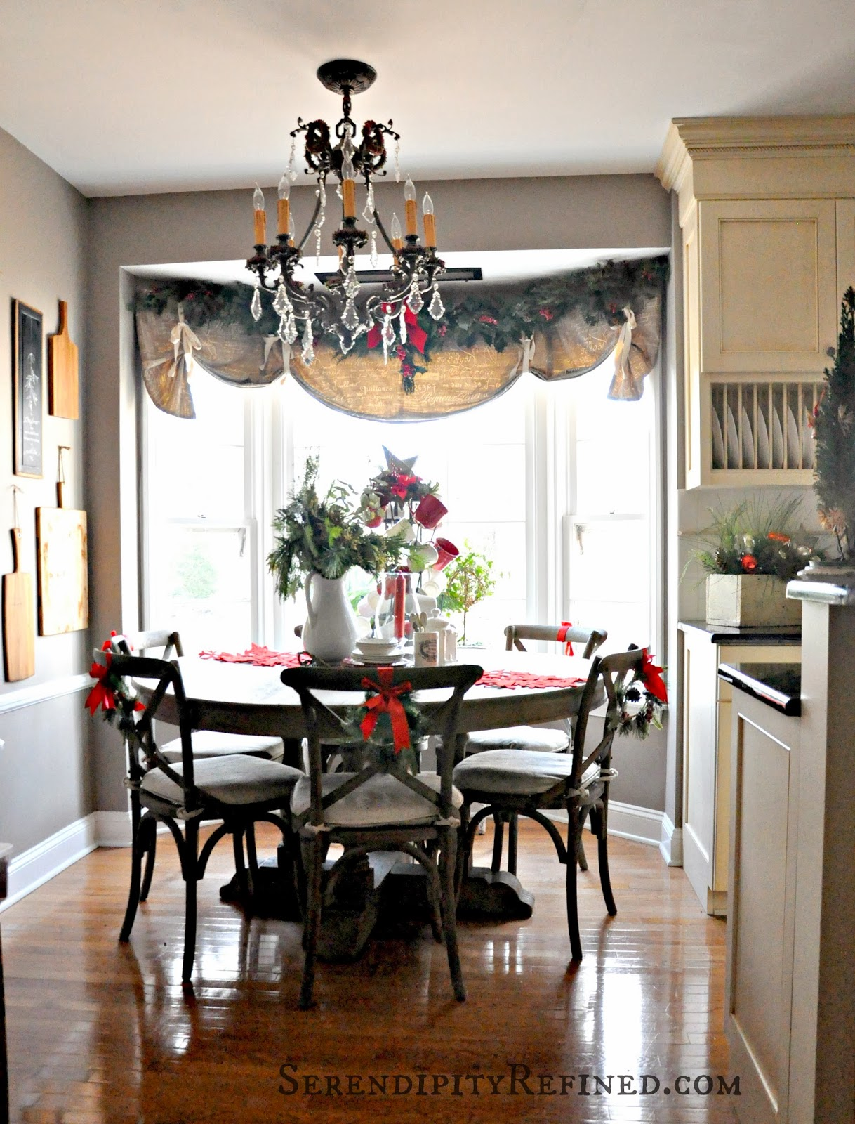 Ideal Serendipity Refined Blog Holiday Home Tour Day French Farmhouse Kitchen