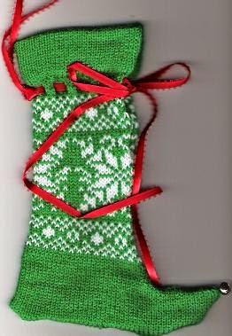 Ninas At My House: Elf Christmas Stocking