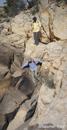 slickrock climbing