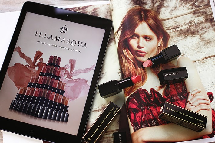 Illamasqua Glamore Nudes Collection