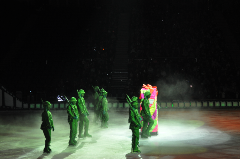 Toy Story soldiers from Disney on Ice