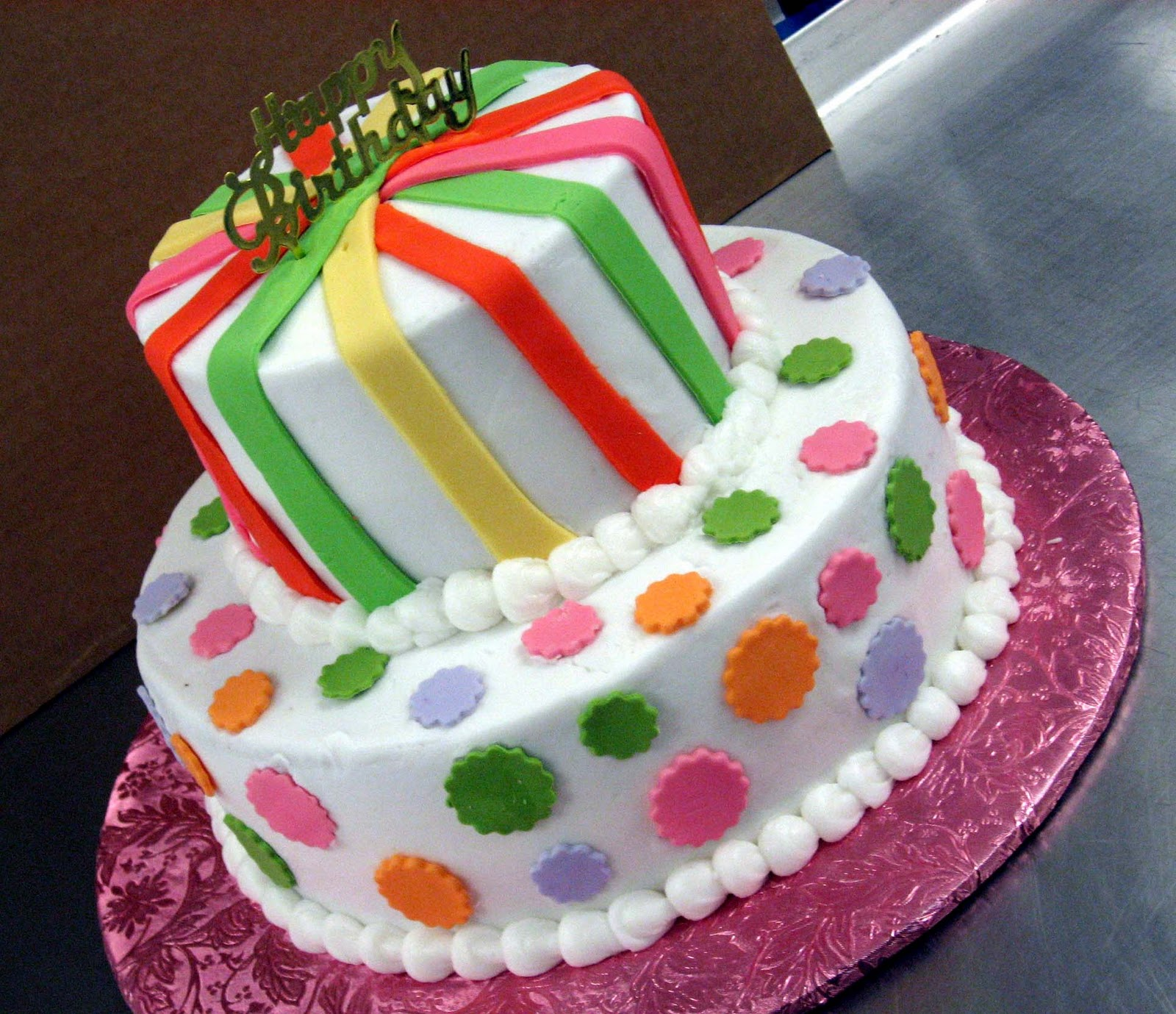 Cake Designs Of Birthday : Birthday Cakes Ideas