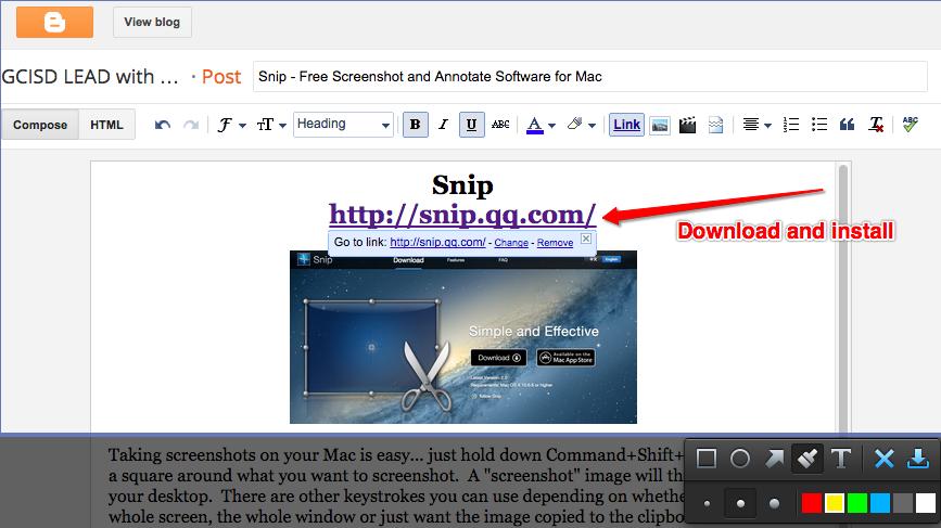mac snip tool download