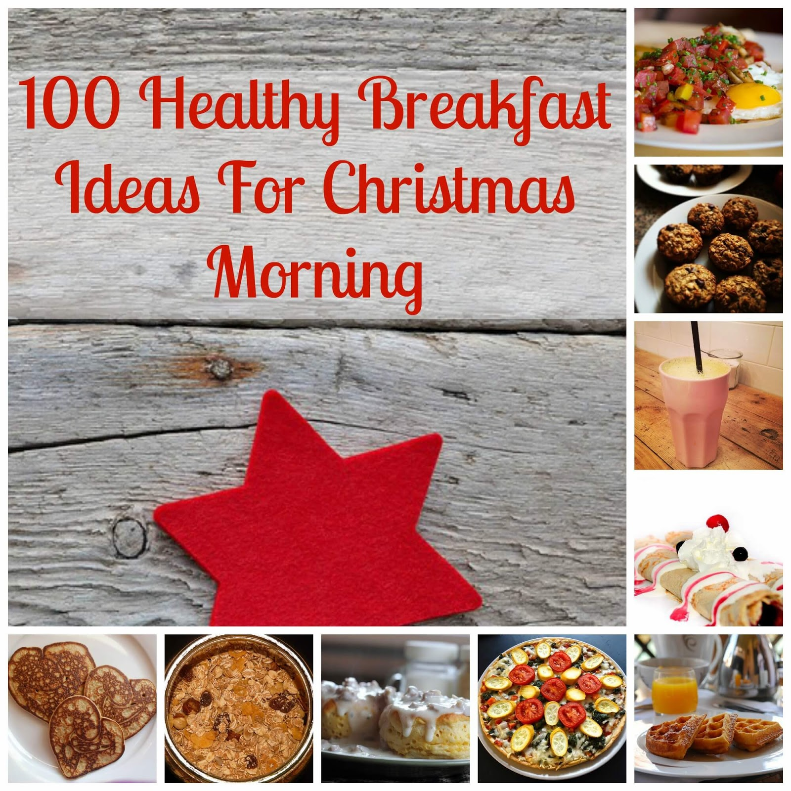 Healthy Christmas Breakfast Ideas | Becky Cooks Lightly #breakfastideas