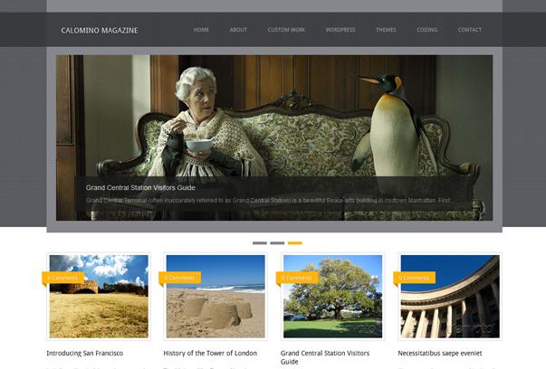 fresh free wordpress themes+%25289%2529 2012 En Güzel Bedava WordPress Temaları indir