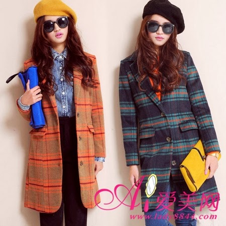 Winter Style - Orange and Green & Black Jackets, Yellow and Black Hats, Blue and Yellow Handbags, Black and Blue Jeans,Black Glasses,Jeans and Yellow Shirts