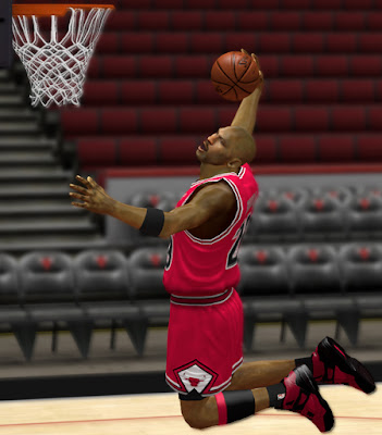 NBA 2K13 Air Michael Jordan Spizike Shoes Mod