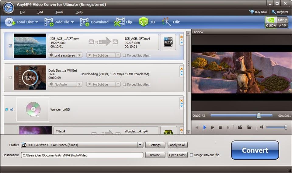 AnyMP4 Video Converter Ultimate 6.1.28 Multilingual (RePost)