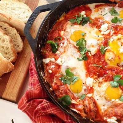 - - - - - - spicy shakshuka - - - - - -