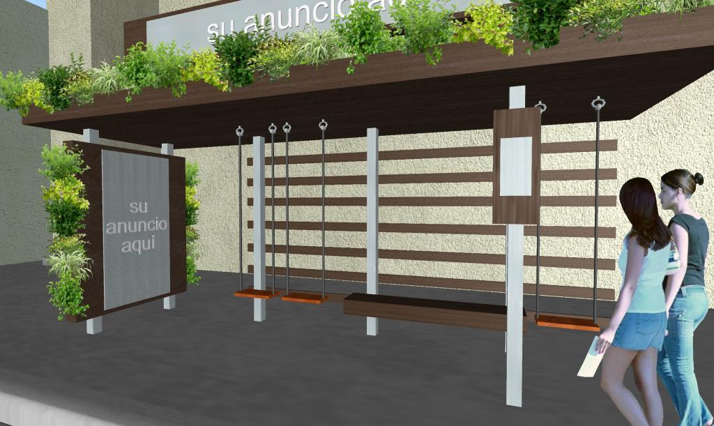 Diseño Parabus Playtime con Jardin Vertical y Colgante 2