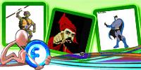 Animations Display Picture – Kura kura Ninja – Sultan Hasanuddin Makassar – Batman | gif | Blackberry Messenger Avatar | Fadli Jabir | Blackberry animasi | Funny Cartoons | Blackberry Animations