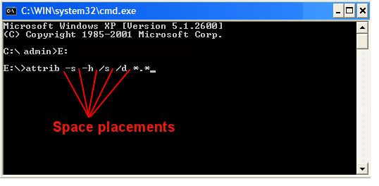 How to Recover Hidden Files From Virus Infected USB Pendrive using Command Prompt