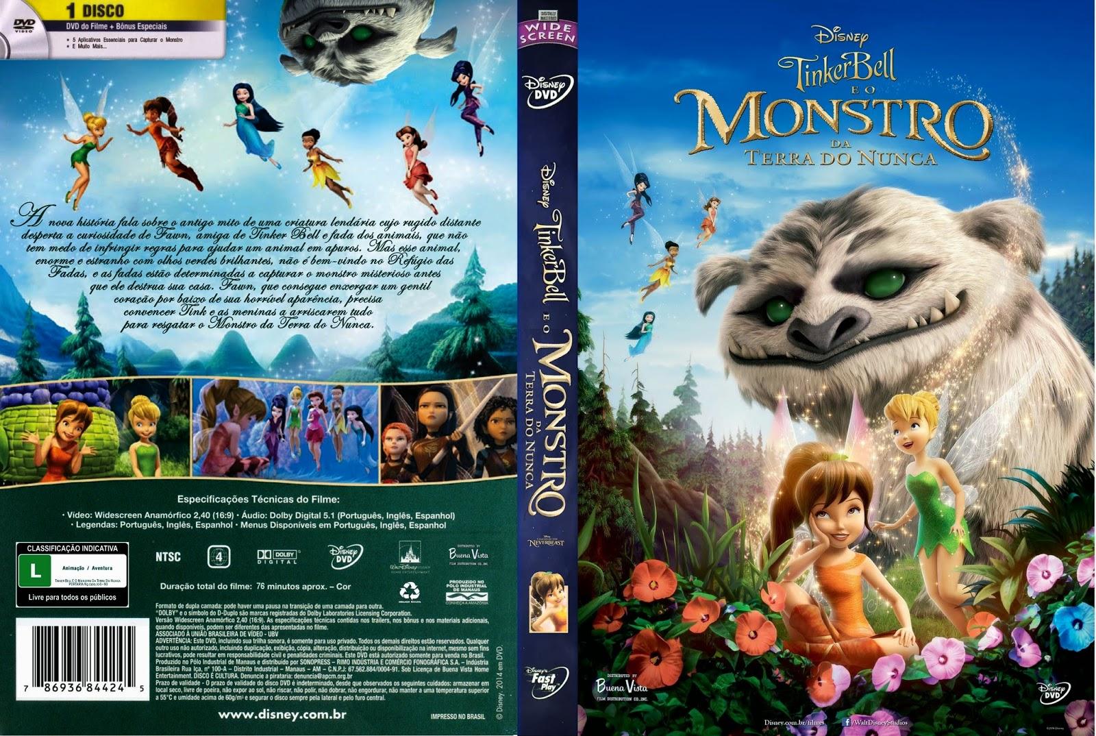 Tinker Bell e o Monstro da Terra do Nunca BDRip XviD Dual Áudio Tinker 2BBell 2BE 2BO 2BMonstro 2BDa 2BTerra 2BDo 2BNunca