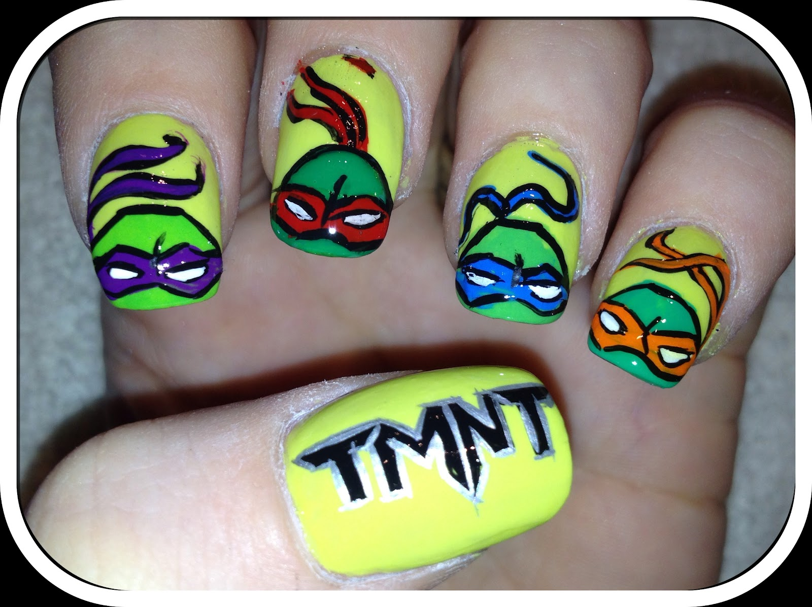 Nailed Daily: Day 109 - Ninja Turtles