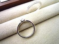 丁寧な作りで気に入ったデザインでオーダーしたマリッジリング(結婚指輪)とエンゲージリング(婚約リング)。