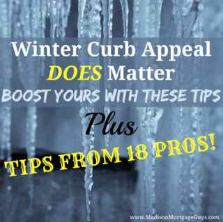 Winter Curb Appeal Does Matter