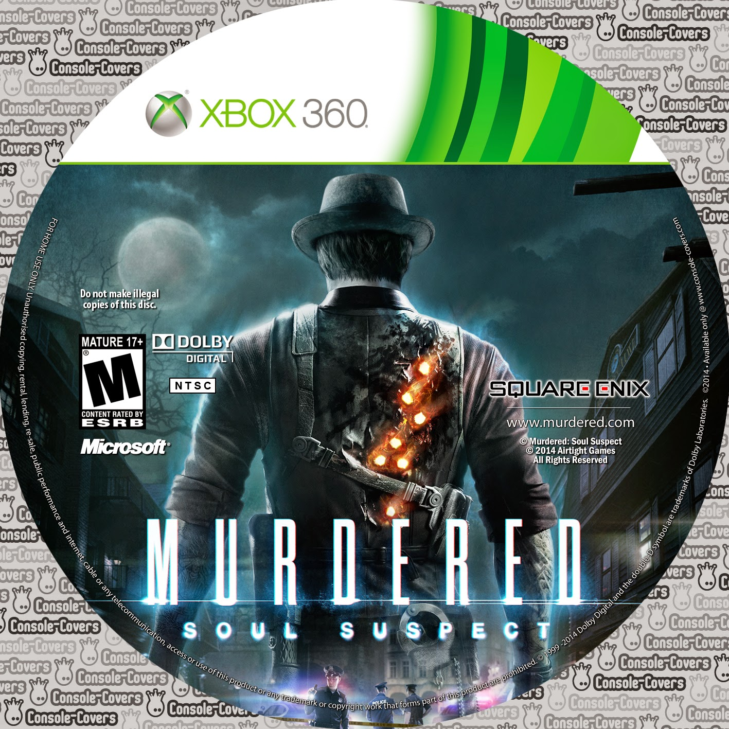 Capa Murdered: Soul Suspect XBOX 360