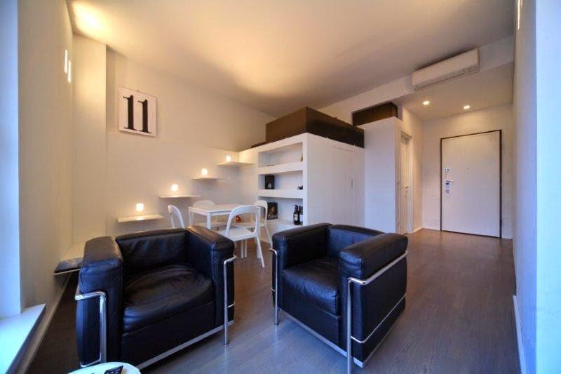 Interior relooking come illuminare le stanze for Monolocale arredato milano