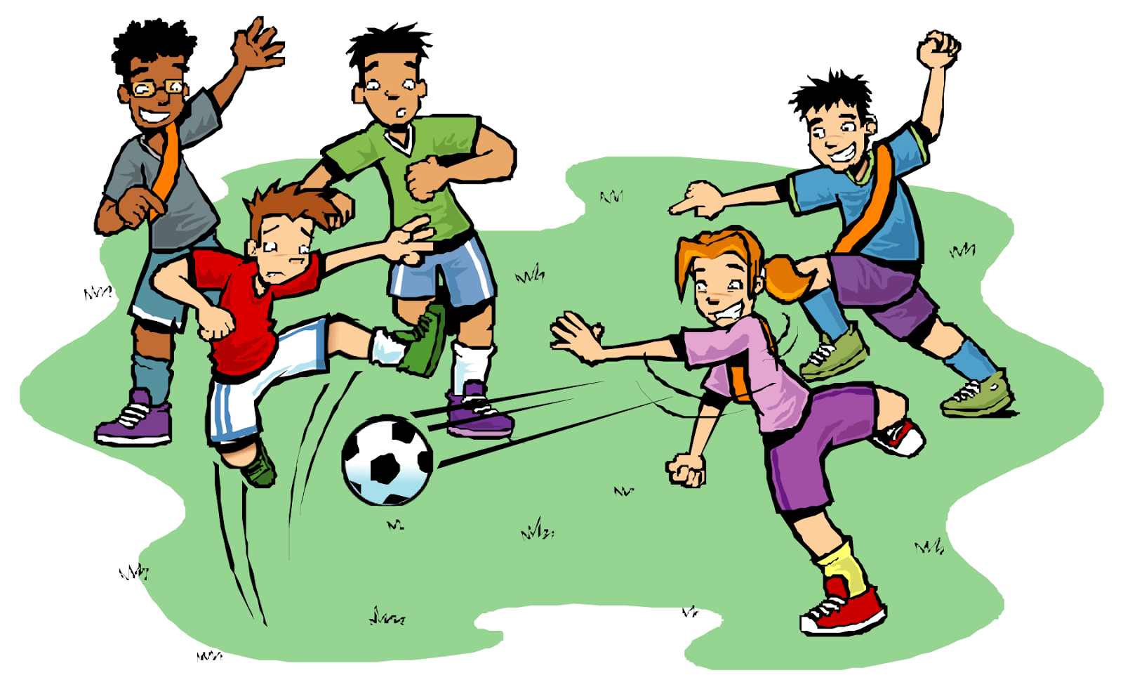 Football Camp Clip Art
