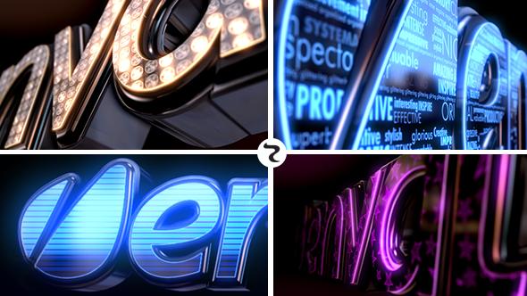 VideoHive LED Logo